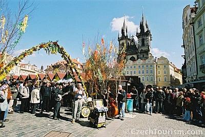 Velikonoční trhy Praha